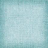 Голубая естественная linen текстура для предпосылки Стоковое Фото