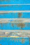 голубая лестница Стоковые Изображения