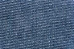 Голубая джинсовая ткань демикотона безшовная для текстуры и предпосылки Стоковое Изображение
