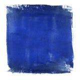 Голубая заплата цвета стоковые фото