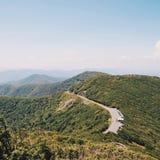 голубая зига гор Стоковые Изображения RF