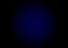Голубая диагональ решетки лазера в круге Стоковые Фото