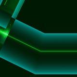 Голубая и зеленая алюминиевая поверхность Металлическая геометрическая предпосылка текстуры Концепция индустрии Стоковое Изображение