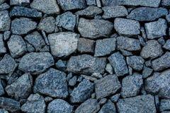 Голубая каменная стена Стоковая Фотография RF