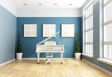 Голубая камерная музыка Стоковая Фотография RF