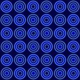 голубая картина круга безшовная иллюстрация вектора