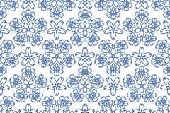 голубая картина орнамента Стоковые Изображения RF