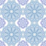 голубая картина орнамента Стоковое Изображение RF