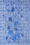 Голубая картина ткани Стоковая Фотография