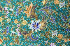 Голубой цветок на голубой предпосылке Стоковое Изображение RF