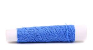 Голубая катушка потоков закрывает вверх. Стоковая Фотография RF