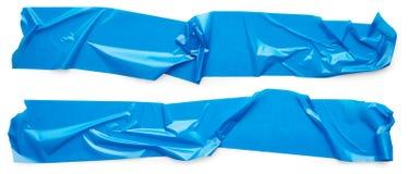 Голубая клейкая лента Стоковые Изображения RF
