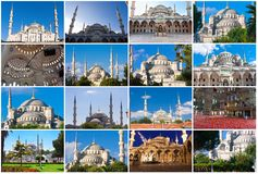 Голубая мечеть в Стамбуле стоковое фото