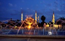Голубая мечеть Стамбул Турция Стоковая Фотография RF