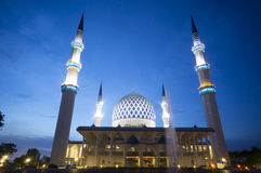 голубая мечеть стоковое изображение