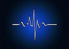 Голубая медицинская Стоковая Фотография RF