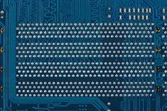 Голубая монтажная плата, предпосылка или текстура Стоковое фото RF