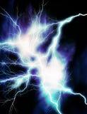 голубая молния Стоковая Фотография
