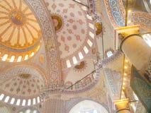 голубая нутряная мечеть Стоковые Фото