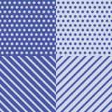 Голубая оборачивая картина Стоковое Изображение