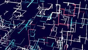 Голубая оживленная абстрактная предпосылка иллюстрация штока