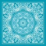 Голубая печать Bandana бесплатная иллюстрация