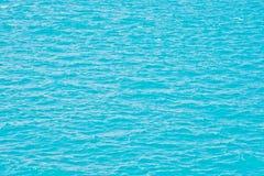 голубая поверхность моря Стоковые Фото