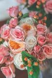голубая подвязка цветка деталей шнурует венчание Стоковые Фотографии RF