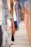 голубая подкраска выставки фотографа вспышки способа Стоковое Фото
