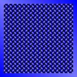Голубая предпосылка абстрактной технологии ячеистой сети Стоковая Фотография RF