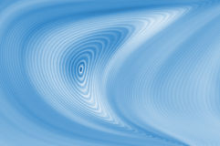 Голубая предпосылка абстрактных и волны Стоковая Фотография