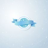 Голубая предпосылка вектора Стоковые Изображения