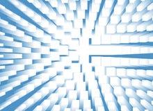 Голубая предпосылка взрыва Стоковые Фотографии RF