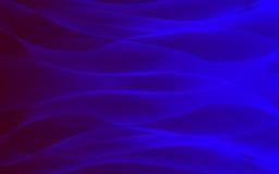 Голубая предпосылка 3 волны Стоковое Фото