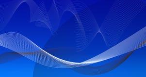 Голубая предпосылка градиента Стоковые Фотографии RF