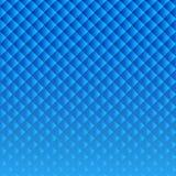 Голубая предпосылка диамантов Стоковая Фотография