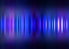 Голубая предпосылка нерезкости движения striped Стоковые Фотографии RF