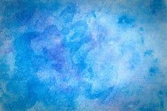Голубая предпосылка пастели мела Стоковые Фотографии RF