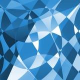 Голубая предпосылка преграженной печати Стоковая Фотография