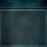 Голубая предпосылка рамки стены Стоковые Фотографии RF