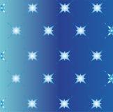 Голубая предпосылка света звезды текстуры Стоковое Изображение RF