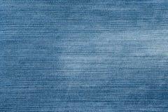 Голубая предпосылка старой увяданной джинсовой ткани Стоковые Фото
