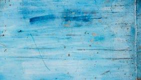 Голубая предпосылка стены с грубой текстурой Стоковые Фото