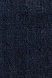 Голубая предпосылка текстуры ткани демикотона Стоковое Изображение RF