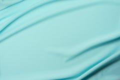 Голубая предпосылка ткани сетки спорта Стоковое Фото
