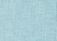 Голубая предпосылка ткани ткани текстуры Стоковая Фотография RF