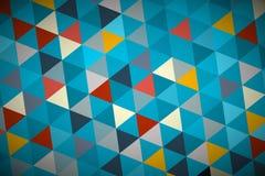 Голубая предпосылка треугольника конспекта вектора бесплатная иллюстрация