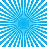Голубая предпосылка луча Стоковая Фотография RF