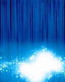Голубая предпосылка этапа Стоковое фото RF