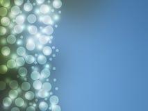 Голубая предпосылка Bokeh Стоковое Фото